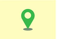Exam location symbol